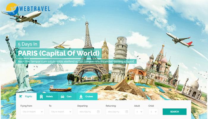 Những mẫu website du lịch đẹp chuyên nghiệp