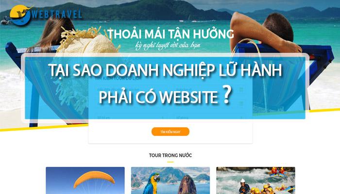 Tại sao phải có website