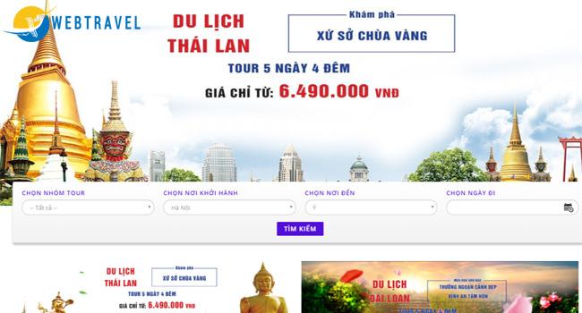 Những lưu ý khi thiết kế website du lịch