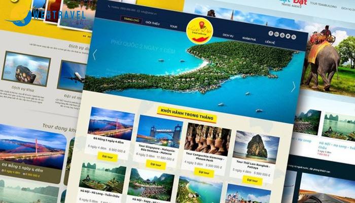 Lưu ý khi thiết kế website du lịch