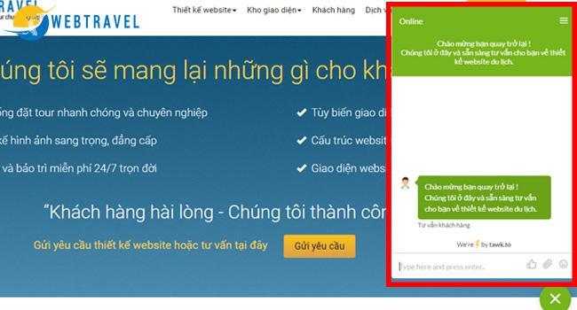 Những lưu ý khi thiết kế web du lịch