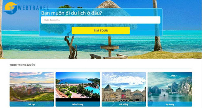 Marketing online trong du lịch bằng website