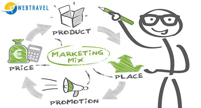 chiến lược marketing mix của công ty du lịch